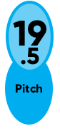 19.5 Pitch Enertia ECO XP
