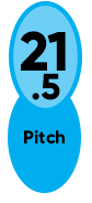 21.5 Pitch Enertia ECO XP