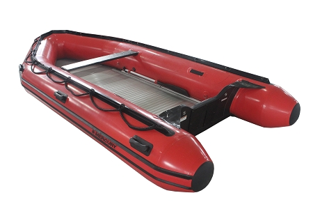 Heavy Duty 430 Inflatable Boat Hp Red Fabric