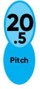20.5 Pitch Enertia ECO XP