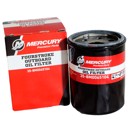 Fourstroke Outboard Oil Filter M on Mercury Outboard Fuel Bulb