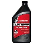 Mercury 4-Stroke Marine Oil 25w-40 Conventional Quart