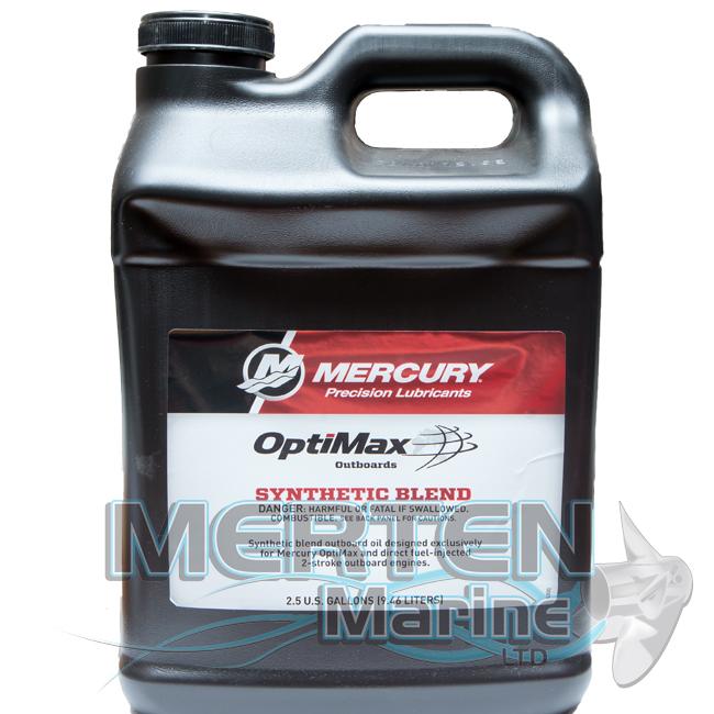 Mercury OptiMax/DFI 2-Cycle Oil 858038K01 - 2.5 Gallon