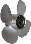 10 x 7 Pitch | Black Max Mercury Propeller | Silver KICKER | RIGHT-HAND | 812948A10