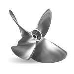 14.5 x 28 Pitch, Pro ET, Lab Finished, RIGHT-HAND, Mercury Racing Propeller