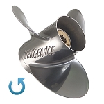 13.5 x 23 Pitch | Vengeance Mercury-Mariner Propeller | 135-300 HP | LEFT-HAND