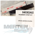 Quicksilver Snubber Strip Kit 840382A02 Used with Mercury Racing HD Hub Kit (840389K06)