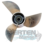 10.75 x 22 Pitch Cleaver Mercury Propeller | 3-BL | Used