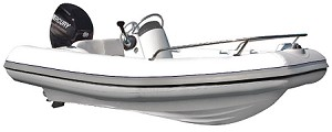 M-Series Inflatable Boat M350 HP with 40HP engine