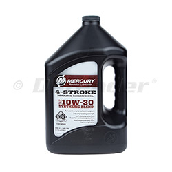 Mercury 4-Stroke Marine Synthetic Blend Oil | 10w30 | 1-Gallon | 8M0142151