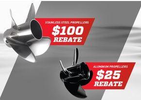 Propeller Rebate Sale
