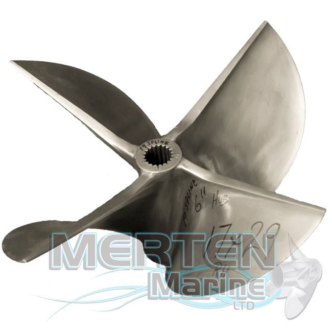 Cleaver 2001: 17 X 29 MerCruiser Cleaver