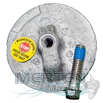 Anode Plate | Magnesium | 76214A6 | Mercury Outboard & MerCruiser