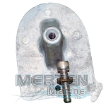 Anode Plate Assembly | Zinc | 47820A1 | Mercury Outboard
