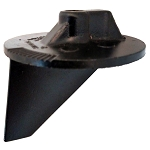 Trim Tab Anode | EDP Painted | 31640T07 | Mercury Outboard & MerCruiser