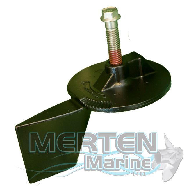 Trim Tab Anode | EDP Painted | 8M0091534 | Mercury Outboard