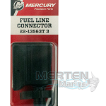 Fuel Line Connector, Mercury | 22-13563T3