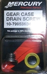 Mercury Gear Case Drain Screw | 79953K04