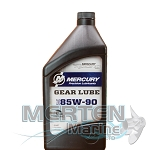Mercury Racing Gear Lube | 85W-90 | 1-Quart | 8M0078015