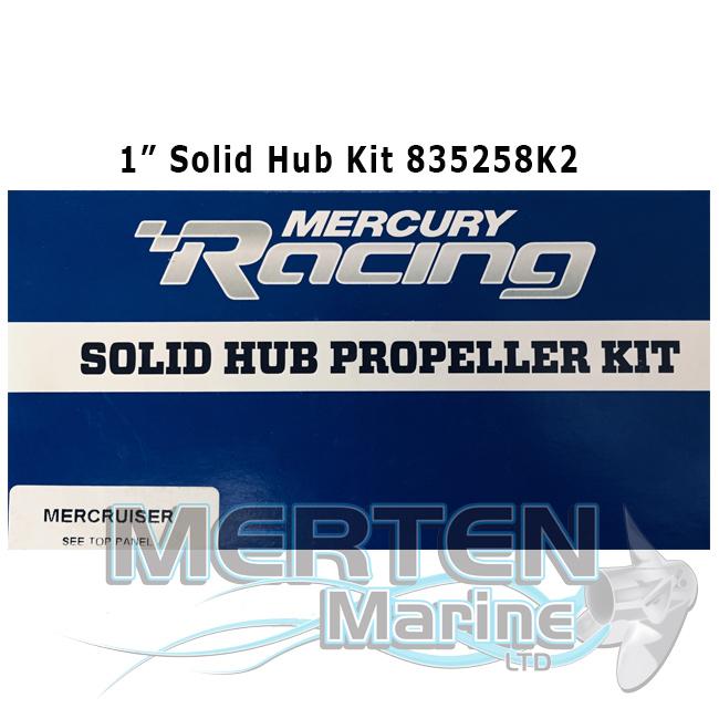 Mercury Marine Mercruiser Flo-Torq II Solid Prop Propeller Hub Kit 835258K2