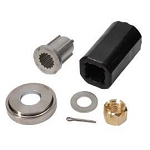 Flo-Torq II Yamaha 115-250 HP VMax SHO 4 Stroke using a two piece thrust washer Hub Kit 8M0075402