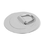 D-Ring Stainless Steel for PVC boats - Gray color - Large