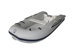 Dynamic 260 Inflatable Boat - PVC Gray