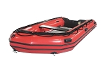 Heavy Duty 380 Inflatable Boat | HP Red Fabric