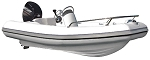 M-Series Inflatable Boat M570 HP (Boat Only)