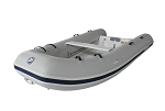 Ocean Runner 290/300 Inflatable Boat - PVC Gray