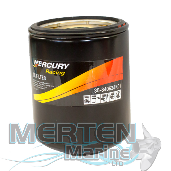 Mercury Racing Oil Filter 840634K01