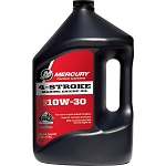 Mercury 4-Stroke Marine Conventional Oil | 10w30 | 1-Gallon | 8M0078626