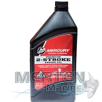 Mercury 2-Stroke Premium Oil | TC-W3 | 1-Quart | 858021K01