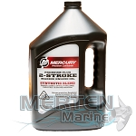 Mercury Premium Plus Synthetic Blend 2-Stroke Oil | 1-Gallon | TC-W3 | 858027K01