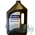 Mercury 2-Stroke | Synthetic Blend | Mercury Racing Oil | 1-Gallon | 8M0078011