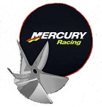 Mercury Racing CNC Padded Prop Cover 18-inch 8M0134104