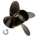 14 x 20 Pitch | Alpha 4 Mercury Propeller | LEFT-HAND | 834855A45
