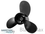 8.9 x 8.5 Pitch | Black Max Mercury Mariner Propeller | 8/9.9 HP, FS | 897618A10