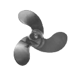 7-3/8 x 7 Pitch | Black Max Mercury Propeller | 2.5-3.5 HP | RIGHT-HAND | 815083A02