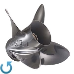 15 1/4 x 22 Pitch | Bravo 1 FS Mercury Propeller | LEFT-HAND | 8M0071088