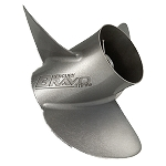 13.75 x 26 Pitch | Bravo Three Mercury Propeller | RH | MATTE Finish | 3-BL | 8M8022450