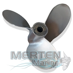 Chopper II | 30-40-60 HP | RIGHT-HAND | Mercury Racing Propeller | 43592A71