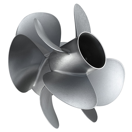 M2 | Zeus Mercury Propeller | 4-Blade | REAR RIGHT-HAND | 8M8024120