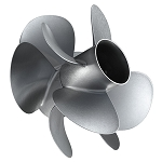 M5 | Zeus Mercury Propeller | 4-Blade | REAR RIGHT-HAND | 8M8023830