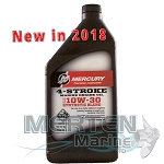 Mercury 4-Stroke Marine Synthetic Blend Oil | 10w30 | 1-Quart | 8M0142141