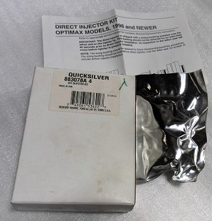 Mercury | INJECTOR KIT-AIR | Package Quantity @1 | 883078A4 | 8M6001743