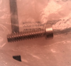 Mercury | NEW SCREW | Package Quantity @1| 10-32651
