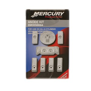 Anode Kit | Aluminum | 8M0058684 | Mercury Outboard