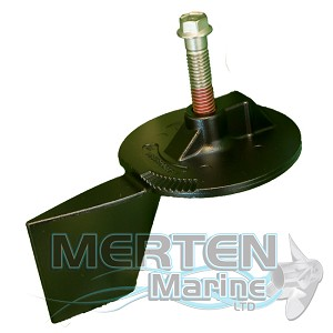 Trim Tab Anode | EDP Painted | 803833T | Mercury Outboard