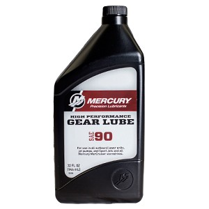 Mercury Gear Lube High-Performance | SAE 90 | 1 Quart | 858064K01